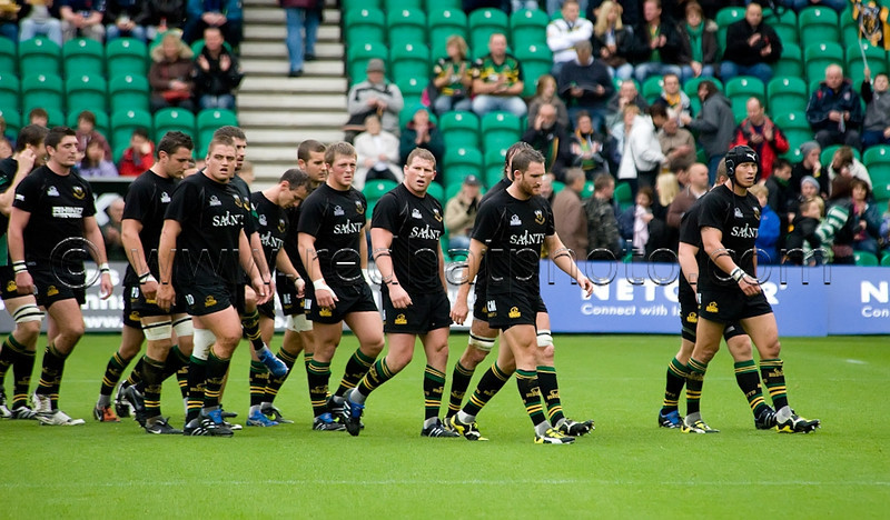Northampton Saints vs Sale Sharks, Guinness Premiership, Franklin's Gardens, 24 October 2009