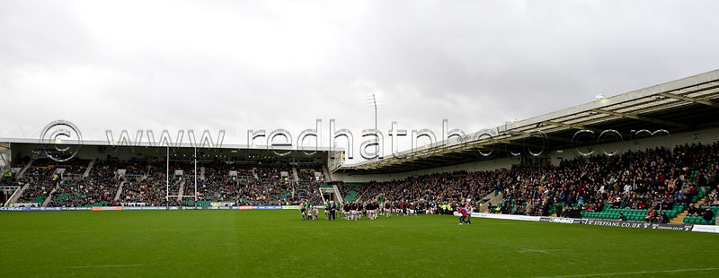 Northampton Saints vs Saracens, LV= Cup, Franklin's Gardens, 14 November 2009