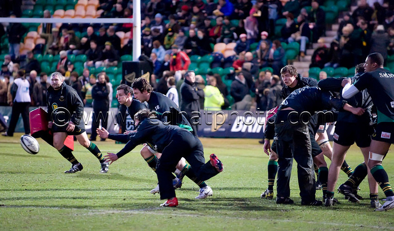 Northampton Saints vs Leicester Tigers, Guinness Premiership, Franklin's Gardens, 23 February 2010