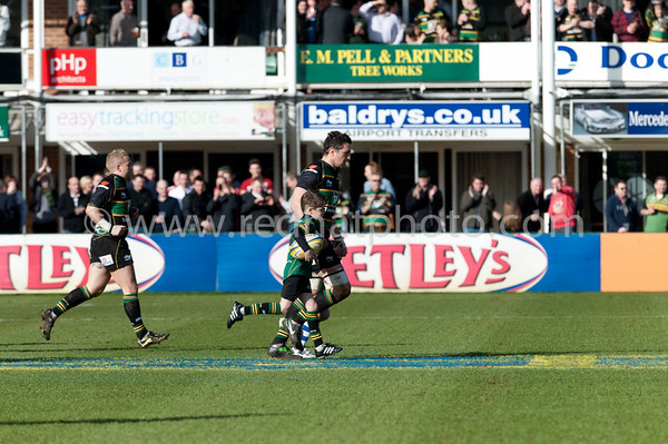 Northampton Saints vs Saracens, Aviva Premiership, Franklin's Gardens, 12 February 2011