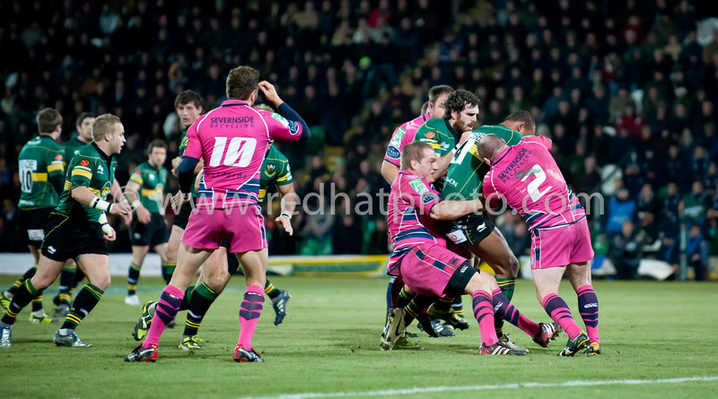 Northampton Saints vs Cardiff Blues, Heineken Cup, Franklin's Gardens, 11 December 2010
