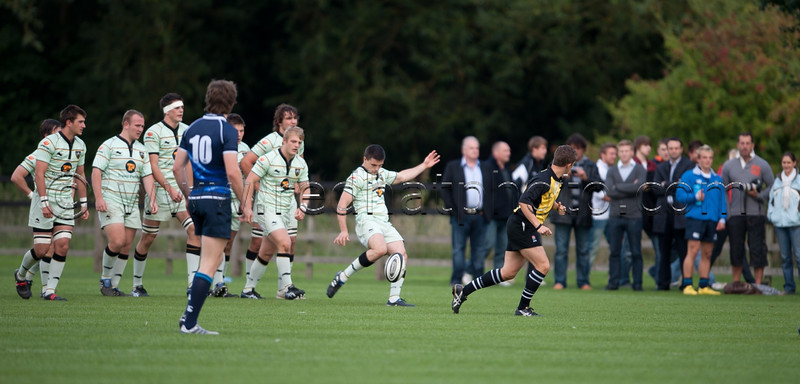 Northampton Saints Academy vs Leinster U19, Franklin's Gardens, 27 August 2010