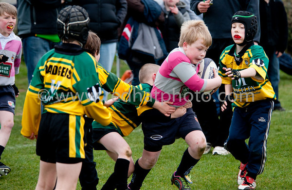 Under 9s, Franklin's Gardens, 27 March 2011