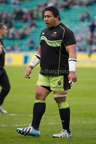 Bath Rugby vs Northampton Saints, Aviva Premiership, The Recreation Ground, 2 May 2014