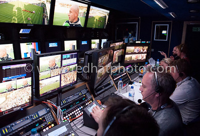 Inside the BT Sport production truck