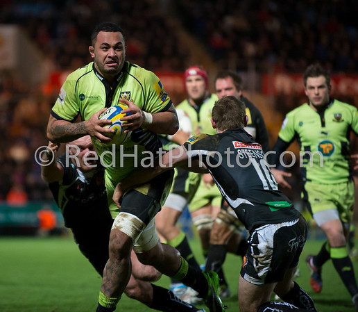 Exeter Chiefs vs Northampton Saints, Aviva Premiership, Franklin's Gardens, 8 February