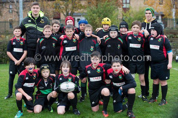 LandRover Cup, Under 12's, Franklin's Gardens, 9 November 2013