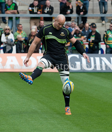 Northampton Saints vs Exeter Chiefs, Aviva Premiership, Franklin's Gardens, 7 September 2013