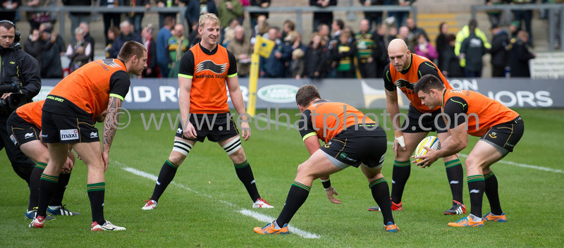 Northampton Saints vs Saracens, Aviva Premiership, Franklin's Gardens, 26 October 2013