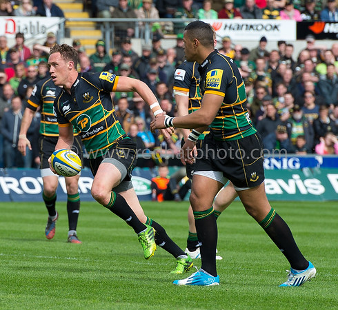 Northampton Saints vs London Wasps, Aviva Premiership, Franklin's Gardens, 10 May 2014