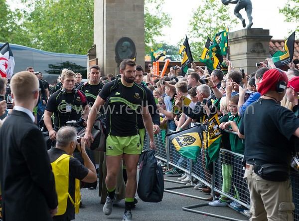 Saracens vs Northampton Saints, Aviva Premiership Final, Twickenham Stadium, 31 May 2014