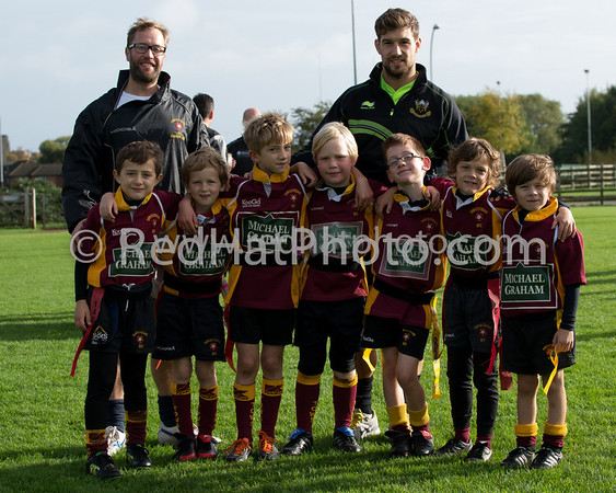 Under 8's, Franklin's Gardens, 20 October 2013
