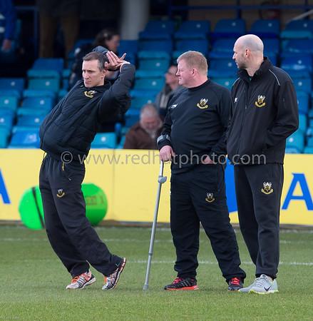 Bath Rugby vs Northampton Saints, Aviva Premiership, Recreation Ground, 21 February 2015