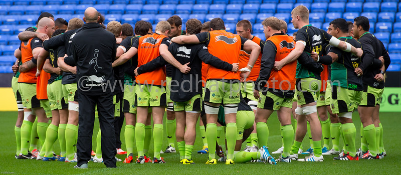 London Irish vs Northampton Saints, Aviva Premiership, Madjeski Stadium, 4 October 2014