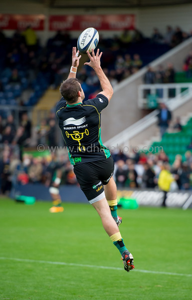 Northampton Saints vs Ospreys, European Rugby Champions Cup, Franklin's Gardens, 25 October 2014