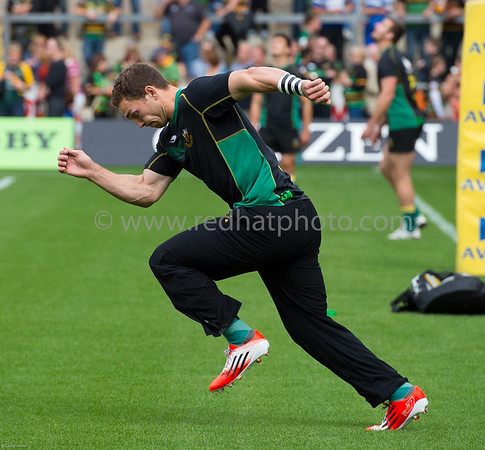 Northampton Saints vs Bath Rugby, Aviva Premiership, Franklin's Gardens, 27 September 2014
