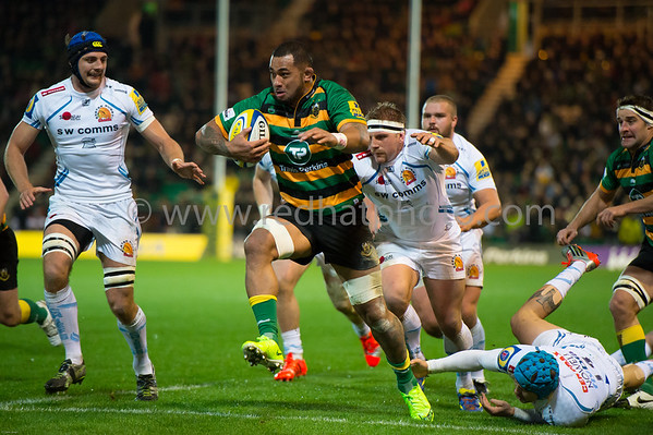 Northampton Saints vs Exeter Chiefs, Aviva Premiership, Franklin's Gardens, 14 November 2014