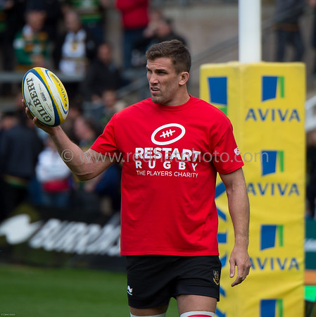 Northampton Saints vs London Welsh, Aviva Premiership, Franklin's Gardens, 7 May 2015