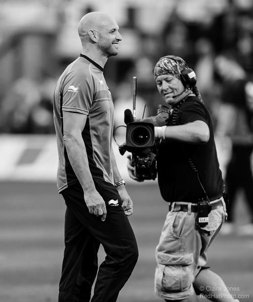 Northampton Saints' season in black and white - 2014-15