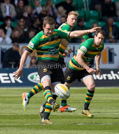 Northampton Saints vs Bath Rugby, Aviva Premiership, Franklin's Gardens, 30 April 2016