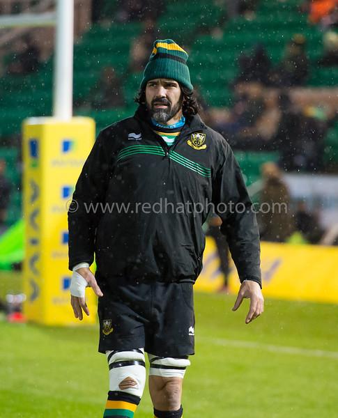 Northampton Saints vs Gloucester Rugby, Aviva Premiership, Franklin's Gardens, 27 November 2015