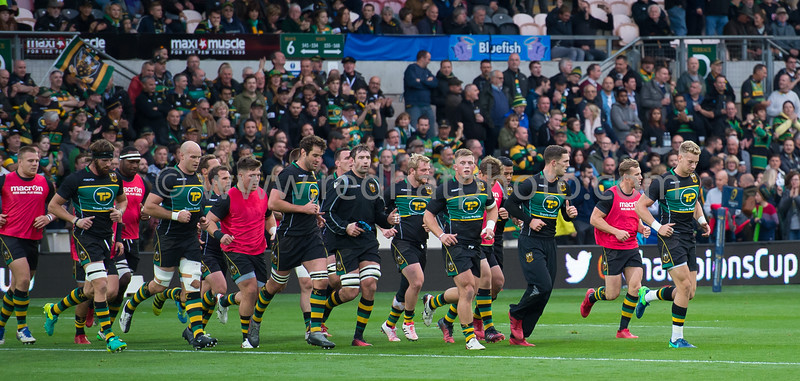 Northampton Saints vs Montpellier Herault, European Rugby Champions Cup, Franjklin's Gardens, 15 October 2016