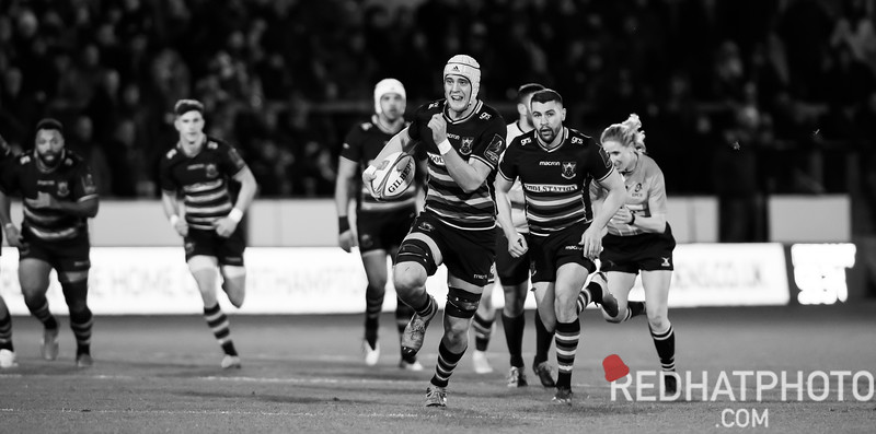 2019 in black and white - Northampton Saints