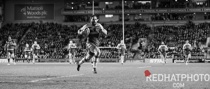 Leicester Tigers vs Northampton Saints, Gallagher Premiership, Welford Road, 22 March 2019