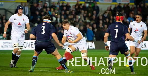 England Under 20s vs Scotland Under 20s, Under 20s Six Nations, Franklin's Gardens, 15 March 2019