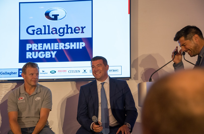 Mark McCall and Simon Matson, CEO, Gallagher UK