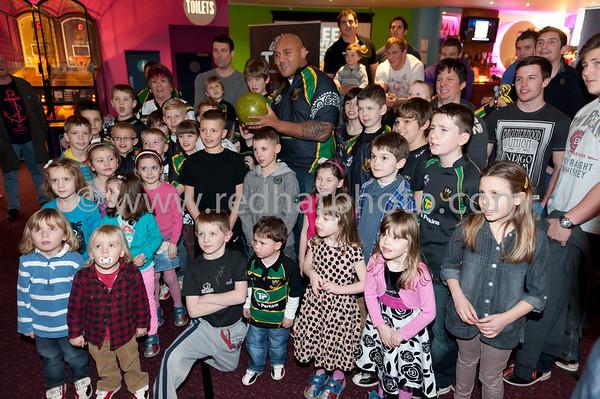 The 'Tiny' Big Bowling Event, TenPin Northampton, 26 Janaury 2012