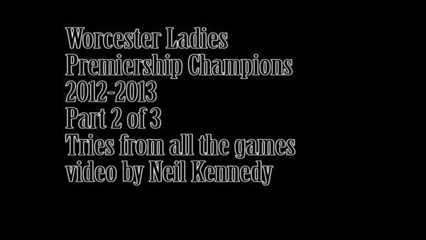 Worcester  Ladies Rugby 2012-13