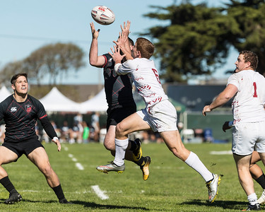 2017 West Coast Collegiate Sevens Rugby (Treasure Island) Pool Play