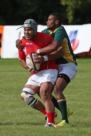 October 12, 2015, Pool C 2nd Round, South Africa vs Tonga, 2015 IDRC