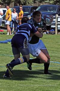 Saturday September 12, 2015, Laramie Wyoming, Jackalope Rugby Tournament