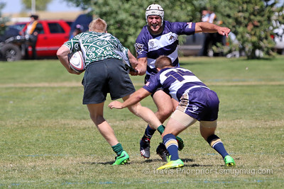 Saturday September 12, 2015, Laramie Wyoming, Jackalope Rugby Tournament