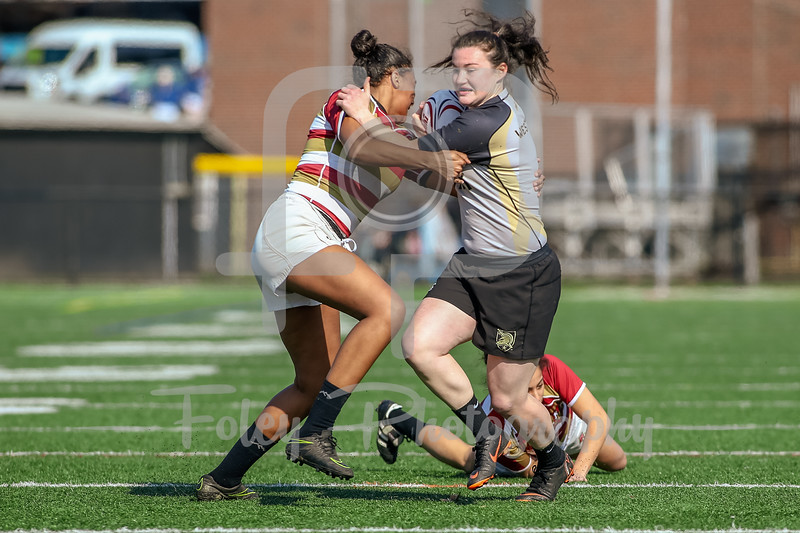 April 14,2018; Springfield, Massachusetts, United States;  during the AIC Rugby Sevens at Richard Abnow Field. Photo: © Brian Foley for Foley-Photography.com.