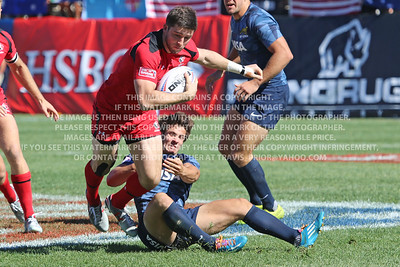 February 13-15, 2015; Las Vegas, Nevada, United States; USA Sevens Rugby- HSBC Seven's World Series, Canada Rugby, Photo: Travis Prior
