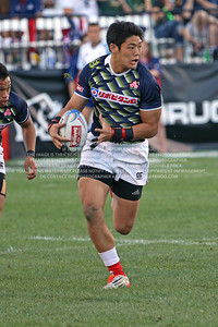 February 13-15, 2015; Las Vegas, Nevada, United States; USA Sevens Rugby- HSBC Seven's World Series, Japan Rugby, Photo: Travis Prior