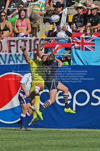 February 13-15, 2015; Las Vegas, Nevada, United States; USA Sevens Rugby- HSBC Seven's World Series, Scotland Rugby, Photo: Travis Prior
