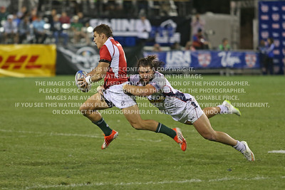 USA Men's Eagles Sevens v Portugal