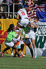 February 14, 2015; Las Vegas, United States; Madison Hughes and the USA Men's Eagles vs South Africa in the HSBC Sevens World Series at the Sam Boyd Stadium. Photo Credit: Travis Prior - KLC fotos