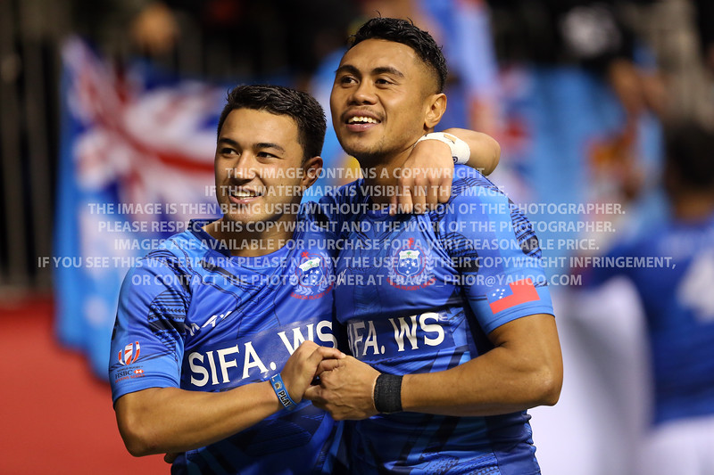Samoa Rugby 2016 HSBC Sevens World Series Vancouver