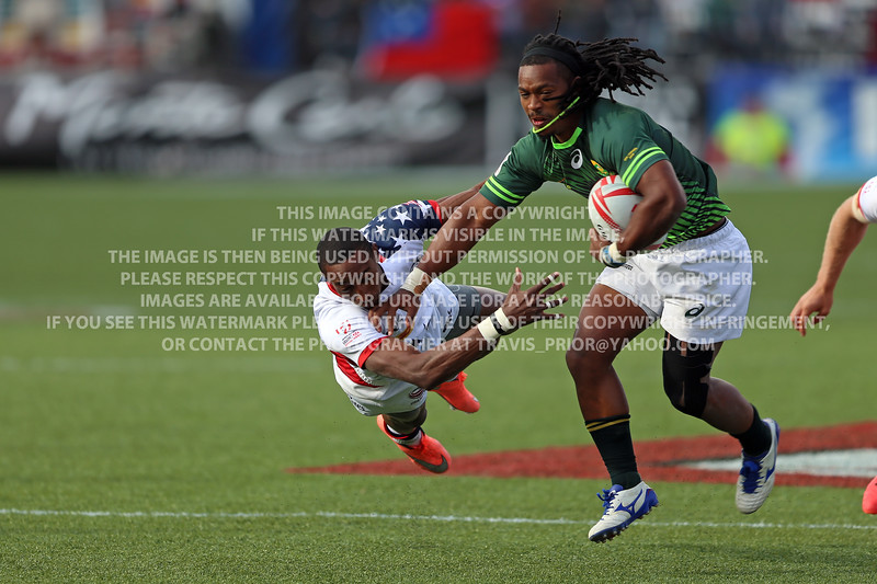 South Africa Rugby 2016 HSBC Sevens Las Vegas