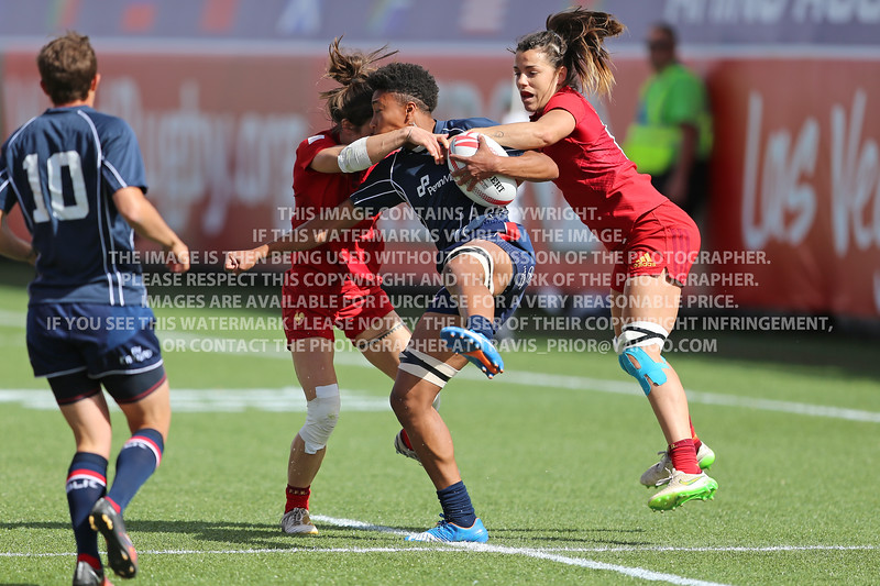 USA Rugby Women's Eagles 2016 HSBC Sevens Las Vegas