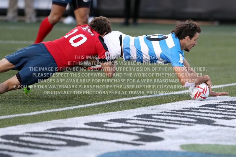 Argentina Rugby Men Las Vegas 2017 HSBC 7's World Series