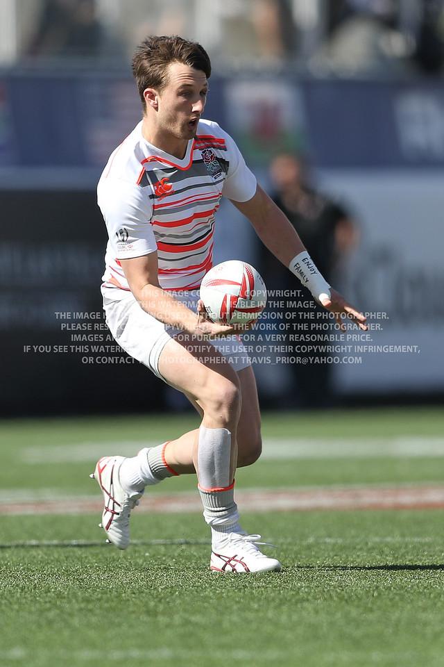 England Rugby Men 2017 Las Vegas HSBC 7's World Series