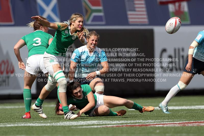 Ireland Rugby Women 2017 Las Vegas HSBC 7's World Series