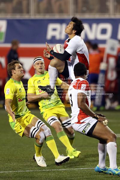 Japan Rugby Men 2017 Las Vegas HSBC 7's World Series