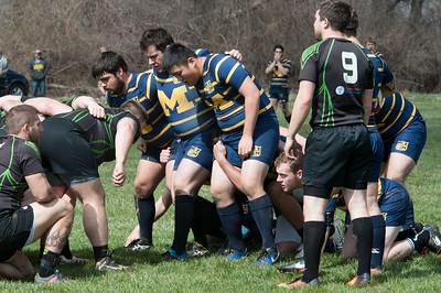 2017 Michigan Rugby vs  Toledo 1